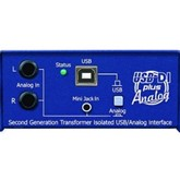 USB/Analog input Balanced Stereo DI Box